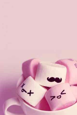 粉色可爱萌物手机