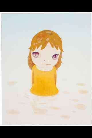 奈良美智手绘女孩
