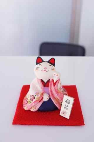 美丽可爱的招财猫