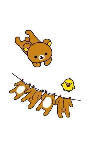 轻松熊衣服飞起来
