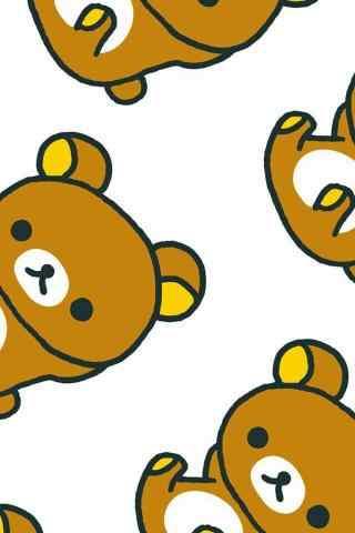 可爱的满屏轻松熊