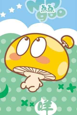 蘑菇点点可爱情侣
