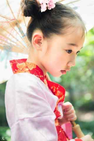 儿童节之可爱小美女手机壁纸