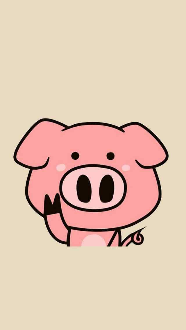 可爱动物卡通图画大全图片手机壁纸_可爱壁纸