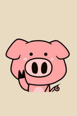 可爱动物卡通图画