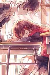 日系卡通唯美情侣