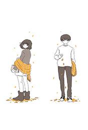 動漫情侶(lv)浪漫手機壁紙