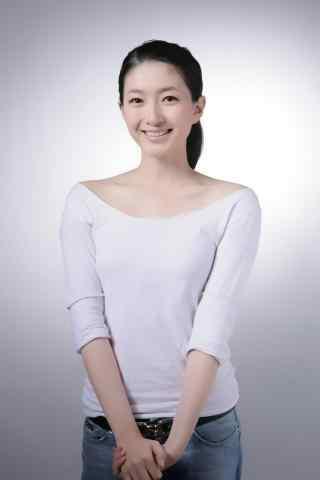美女江疏影青春时尚写真桌面壁纸
