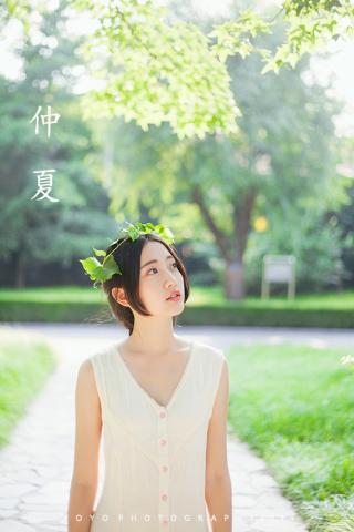 夏日清纯美女手机壁纸