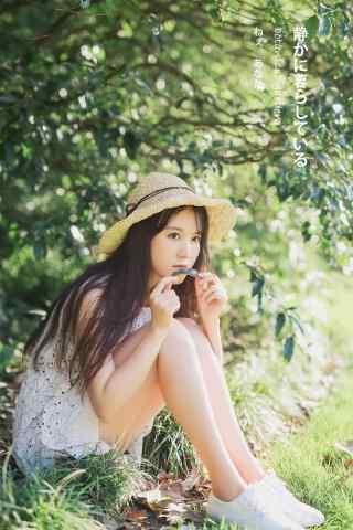 清纯可爱甜美女生手机壁纸