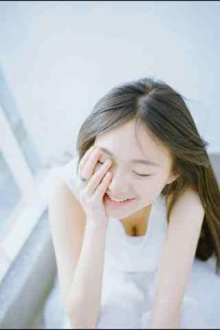 小清新唯美微笑美