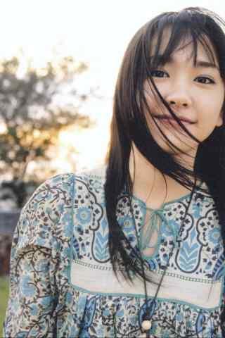 日本美女新垣结衣清纯写真图片手机壁纸