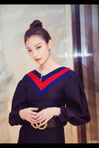 倪妮端庄时尚手机壁纸