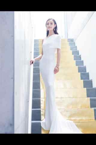 倪妮时尚大气造型手机壁纸