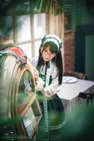 lolita洋装—少女可爱装扮手机壁纸