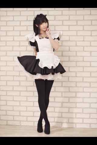 女仆装—甜美动人的女仆手机壁纸