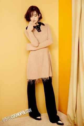 古力娜扎酷帅时尚拍摄手机壁纸