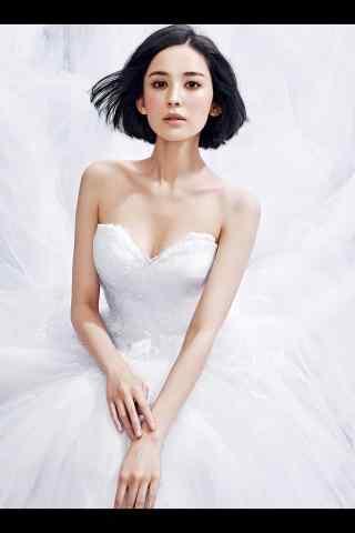 古力娜扎唯美婚纱