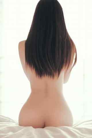 性感裸背美女写真
