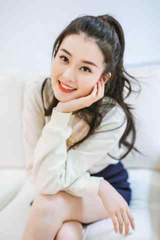 甜美可爱少女乔欣