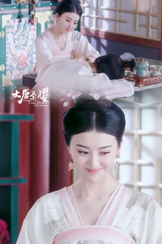 大唐榮耀景(jing)甜害羞甜美手(shou)機(ji)壁紙