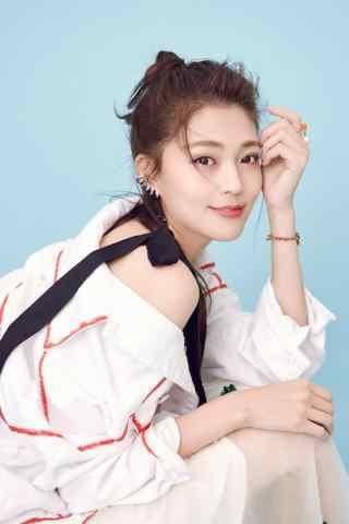 王妍之时尚可爱写真手机壁纸