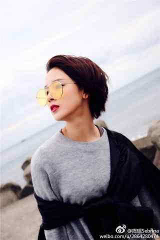 陈瑶时尚写真手机壁纸