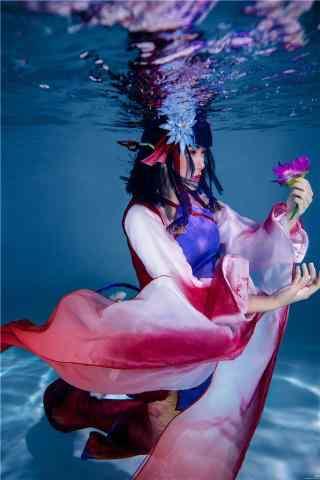 阴阳师觉醒后的鲤鱼精cosplay壁纸