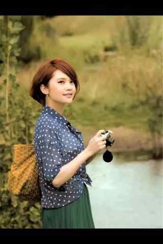 美女杨丞琳日常照片手机壁纸