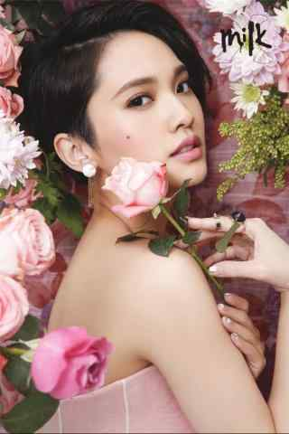 性感的杨丞琳手机海报