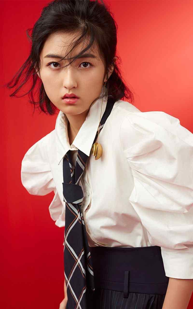 张子枫青春活力写真图片
