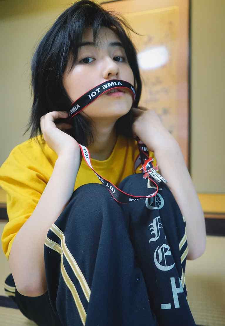 张子枫日系文艺写真图片