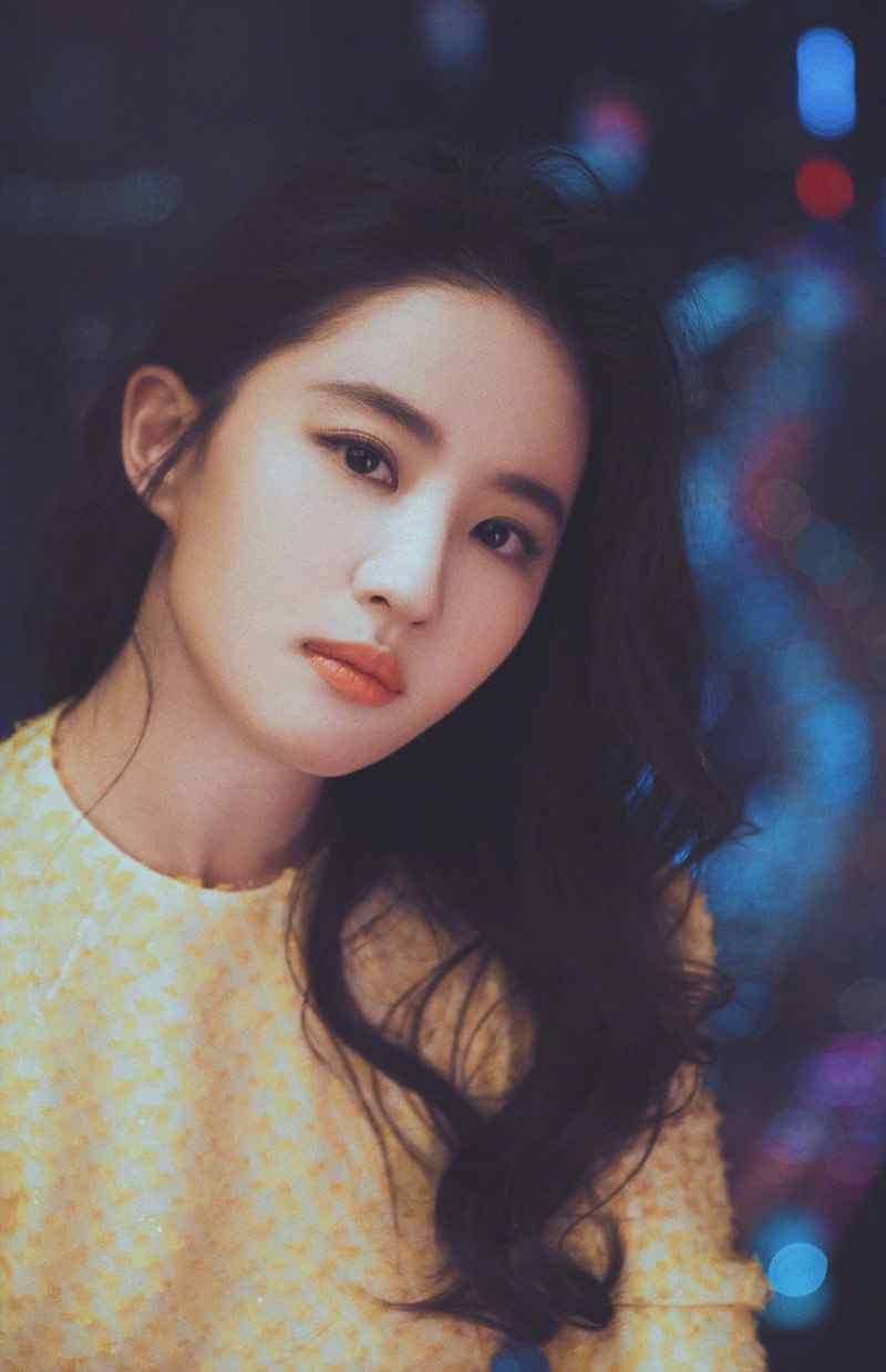 女神刘亦菲明艳动人活动照高清写真图片