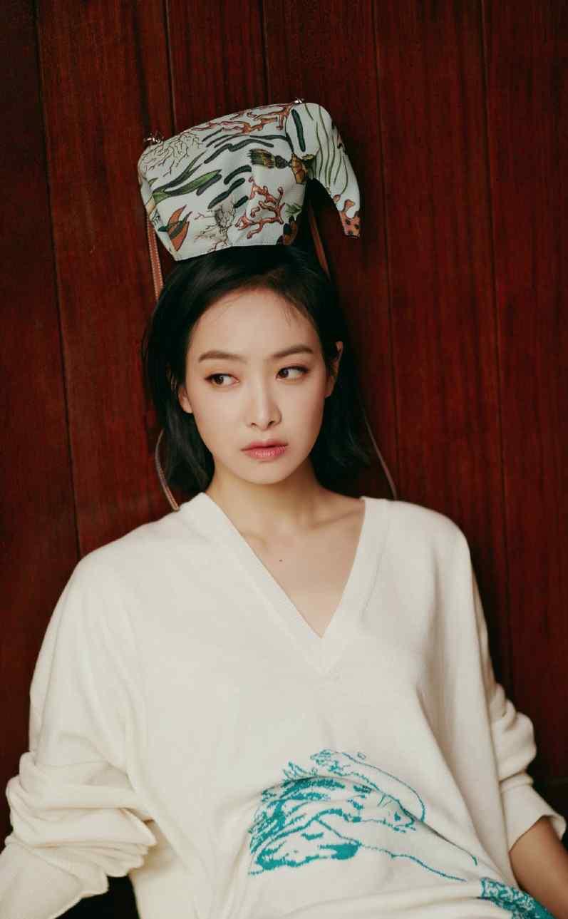 宋茜清纯可爱手机壁纸