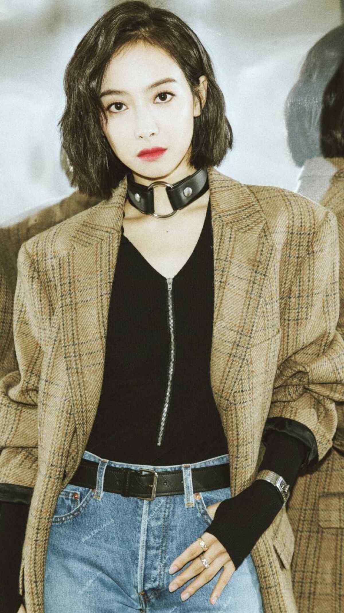 宋茜时尚霸气炫酷