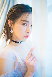 阚清子深V性感白裙写真高清手机壁纸