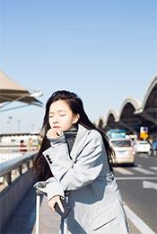 宋妍霏唯美淡雅高清时尚写真图片