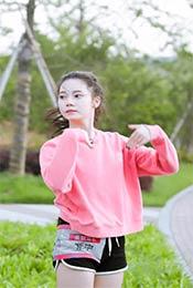 麦锐娱乐紫宁清新甜美高清写真图片