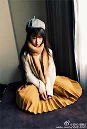 賴美雲長發裙子成熟風格高清唯美壁紙圖片(pian)