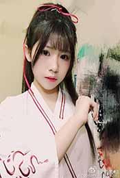 賴美雲(yun)粉色漢服唯美高清寫真壁紙圖片