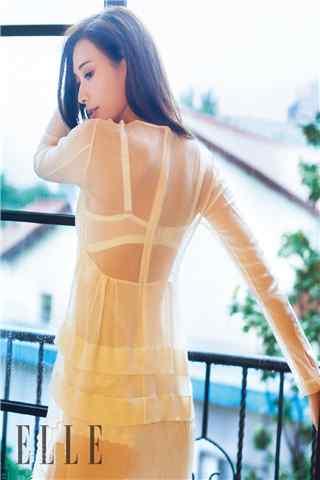 林志玲ELLE时尚杂志性感手机壁纸