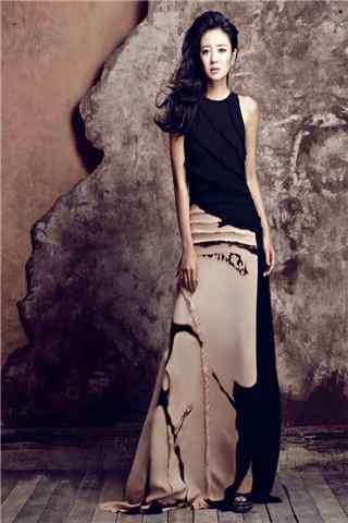 安以轩时尚杂志大片高贵冷艳手机壁纸