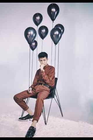 于朦胧时尚杂志气球酷耍手机壁纸