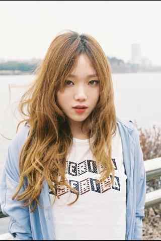 韩国模特李圣经写真图片手机锁屏壁纸