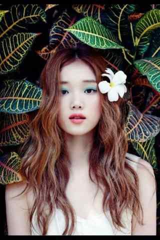 韩国美女模特李圣经写真图片手机锁屏壁纸