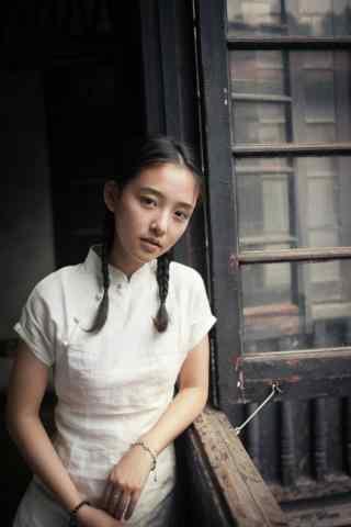 吴倩清新写真图片手机壁纸