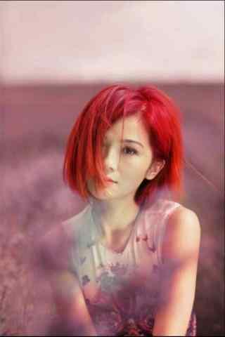 蔡卓妍唯美写真图片手机壁纸 一
