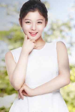 韩国美女金裕贞写真手机壁纸