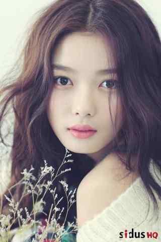 韩国美女演员金裕贞唯美写真图片手机壁纸