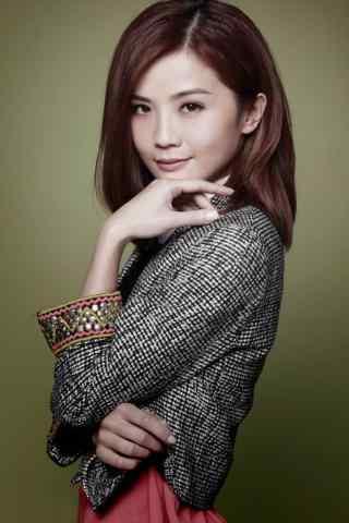 蔡卓妍唯美写真图片手机壁纸 三